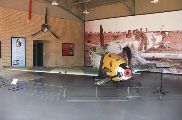 Messerschmitt 109 at the National Museum of Military History.