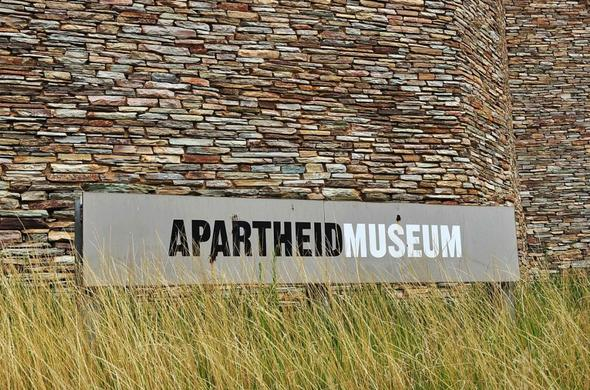 South African Apartheid Museum.