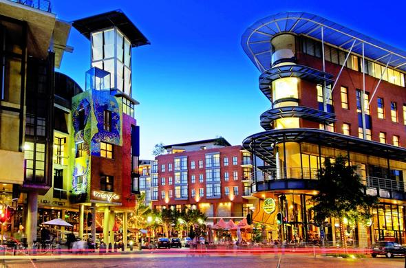 Melrose Arch in Johannesburg is a great shopping destination.