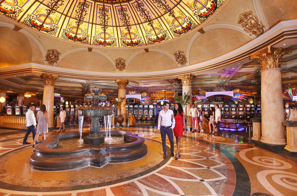 Enjoy a show or gambling at entertainment hotels in Johannesburg.